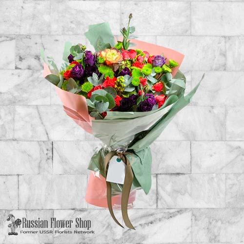 Armenia bouquet de fleurs #14