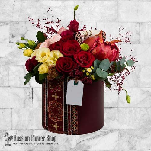 Armenia bouquet de roses #8